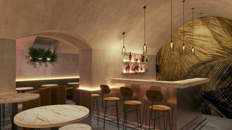 Bar caché de l'Hôtel des Vosges